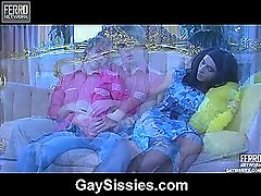 Silvester&Rubio femaleclothed sissy on video