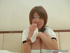 Asian BDSM play where girl plays part6