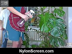 Gloria&Nicholas nylon duo in action