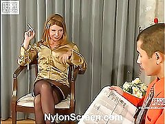 Alice&Nathan vivid nylon action