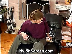 Alice&Mike hot nylon movie