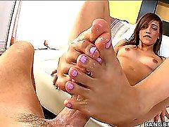 I'm Melanie Jane and I Just Gave You A Foot Job