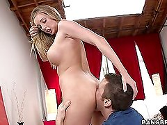Creampie for Samantha Saint