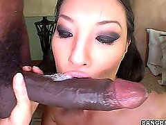 Asa Akira looking for black cock