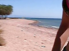 Hot travel sex movie from Egypt:Day 6 - Amazing sex on the beach video,part 1 - 3