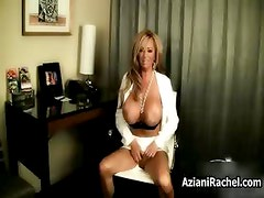 Hot blonde milf gets horny showing off part4