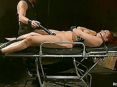 Device Thraldom:Kelly Divine:Stretched,Drilled,Flogged,And Squirting Everywhere,Rosebud Stripped