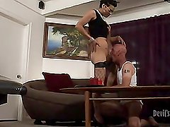 Lady-Boy Babysitters 13