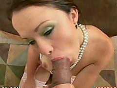 Cheating GF sucks cock and takes a monster facial