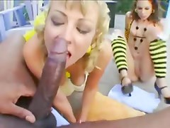 very hot group outdoor sex