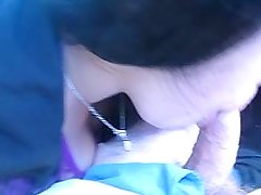 angy giving blowjob in car for cash pt 3