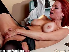 SweetSinner Veronica Avluv Pounded on Desk