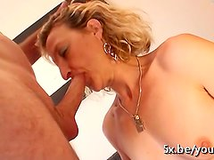 Sylvie fucked by her neighbour