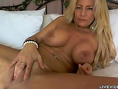 Perfect big titted blonde cougar Ginger Todd