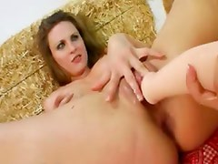 two girsl fucking anal with poove