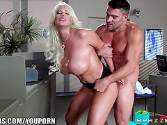 Brazzers - Cop fucks Bridgette b hard