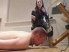 Trampling and boot licking