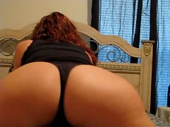 Curvy Chick Shows Off Her Sexy Ass