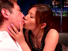 Hot Fuck Babe Yuna Shiina Making Out And Giving A Sensual Blowjob