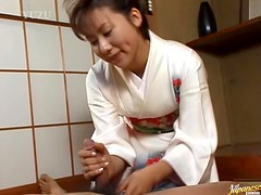 Hot Massage With the Asian Babe Megumi Tsuchida