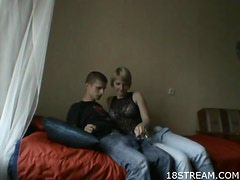 Amateur Russian Teen Couple Fucking Doggystyle