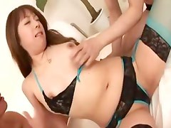 tight fucking of stunning asian pussy