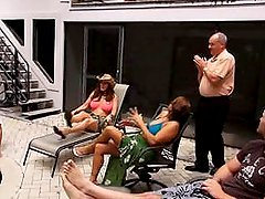 Two Milf`s have fun on Vacation