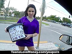 TeensLoveMoney - Fundraising Money For A Car Quickie!