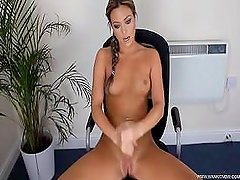 Wank it now - jerk off clinic - Natalia Forrest