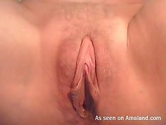 Hot Teen Plays With Her Pussy in a Close Up Video