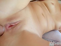 All Internal Her first anal creampie