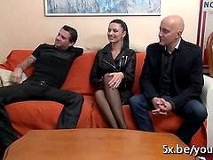 He shared is wife Ania in a gangbang