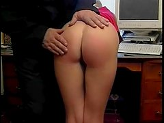 Office Spanking - Bizarre