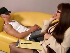 MILF Alexandra Silk gives this dude a surprise