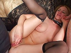 MILF double penetrated real good
