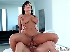 PureMature - Career woman Lisa Ann unwind