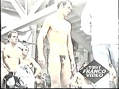 Naked Jocks Weighing In (spycam)