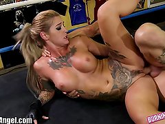 BurningAngel Ronda ArouseMe Hardcore Parody