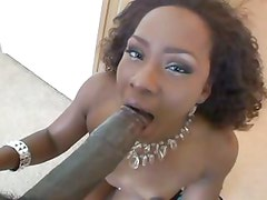 Miss Platinum is a dirty little whore who loves her dicks dark and hard