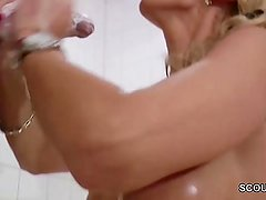 Mom suprise her Step-Son with Big Dick