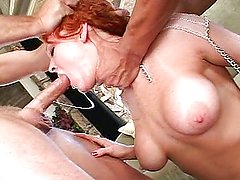 Audrey Hollander taking dick rough