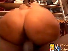 Mature Sales assistant gets fucked by Black Cock - she was craving for meat