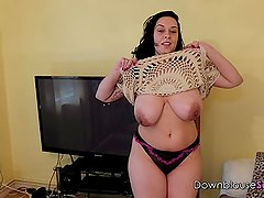 BBW - License To Dance with my massive tits