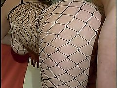 Milf caught in the net