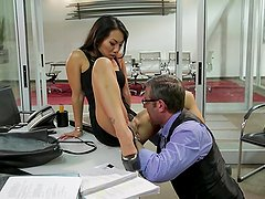 Asa Akira Being Fucked In Office