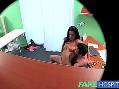 FakeHospital Couple fuck in doctors office