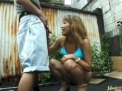 Great Blowjob Scene With The Asian Babe Mai Sakurai