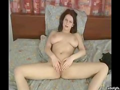Pretty Busty Girl Loves Masturbating In Front Of The Camera