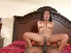 Lacey Duvalle bounces her moist pussy on this hard dick