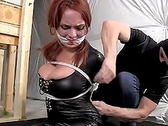 Ashley graham bound and gagged
